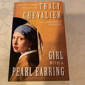Other - GIRL WITH A PEARL EARRIN BY Tracy Chevalier